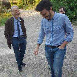 Pier Luigi Cervellati con Emilio Antinori