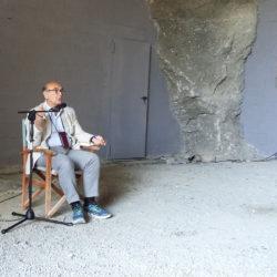 Alessandro Portelli al Belvedere di selenite