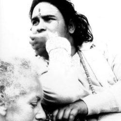 Lisetta Carmi con Babaji