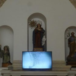 Video di Rosemarie Trockel alla chiesa di S.Anna