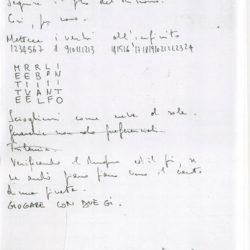 Alighiero & il sesto senso (manoscritto)