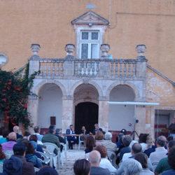Massimo Mercati ed Ernesto Riva alla masseria Ferragnano