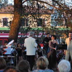 Inaugurazione del festival alla stazione di Locorotondo