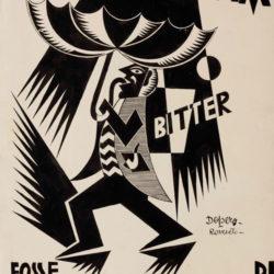Fortunato Depero, Se la pioggia fosse Bitter Campari, 1926-1927