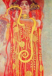 Gustav Klimt, Medizin (dettaglio), 1900-07.