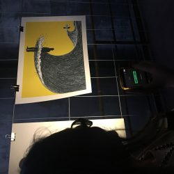 La mostra di Guido Scarabottolo