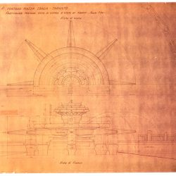 AQP. L'acquedotto inedito / Fontana di Piazza Ebalia, Taranto – particolari visti di sopra e visti di fianco