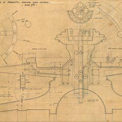 AQP. L'acquedotto inedito / Fontana di Piazza Ebalia, Taranto – sezione centrale