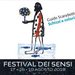 Manifesto disegnato da Mario Piazza per la mostra di Guido Scarabottolo