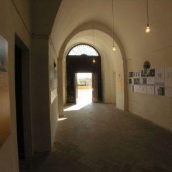 Palazzo Amati, sede della mostra Il disegno delle luminarie tradizionali